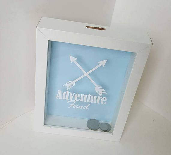Check out this item in my Etsy shop https://www.etsy.com/au/listing/511574580/money-box-gift-adventure-fund