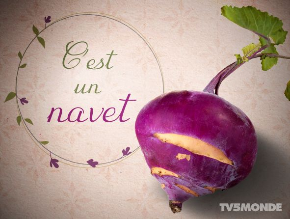 C'est un navet Literally: It is a turnip Meaning: It is a third-rate film