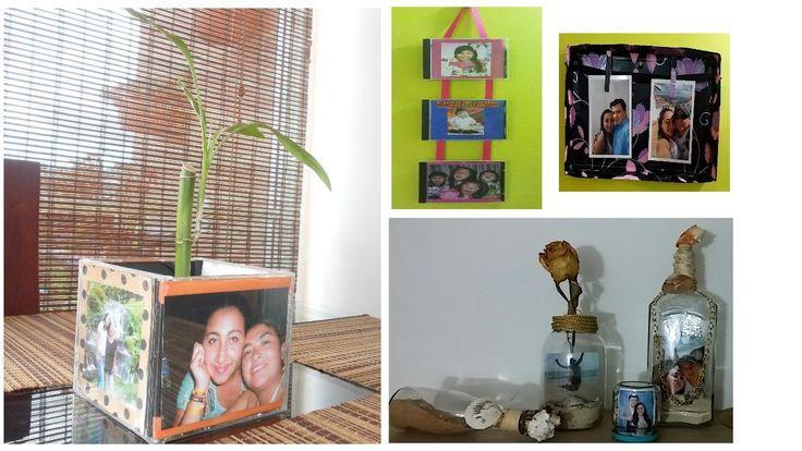 7 IDEAS PORTARETRATOS RECICLADOS / DIY: RECYCLED PHOTO FRAME