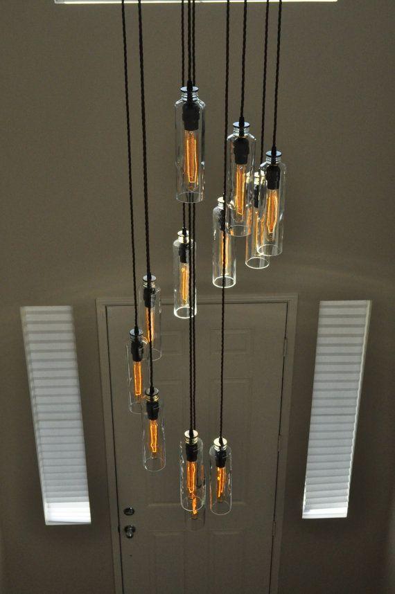 ... Edison su Pinterest  Lampadari, Lampade A Sospensione e Industriale