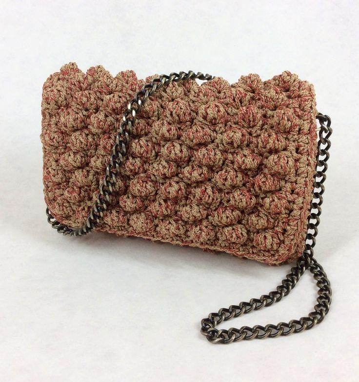 Crochet Bag Bronze