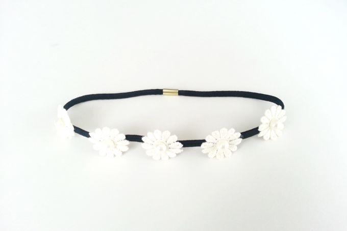 Daisy Headband by Jewels and Lace on hellopretty.co.za