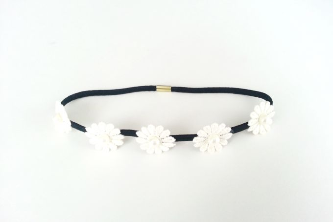 Daisy Headband by Jewels and Lace on hellopretty.co.za