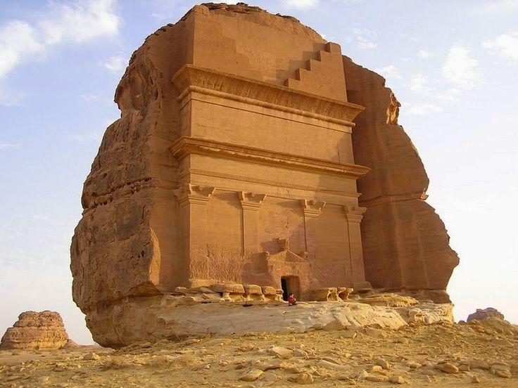 Il castello di Qasr al-Farid, Arabia Saudita