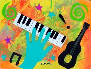 Check out student artwork posted to Artsonia from the Matisse Jazz project gallery at Cathedral School.