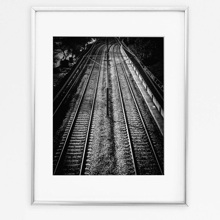 Railroad Poster, Trains Decor, Transportation Wall Art, Railroad Print, Trains Wall Art, Transportation Decor, Railroad Photography by DigitalSpot on Etsy