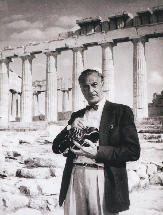 Gary Cooper en el Partenón