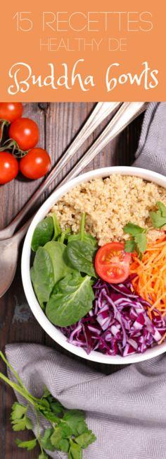 Au quinoa, à l'avocat, aux champignons : 15 recettes de Buddha bowls healthy !