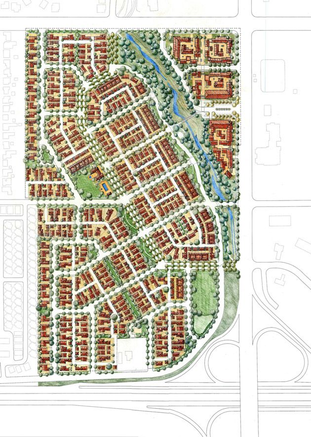 Parklands Specific Plan by Moule & Polyzoides | Ventura, California