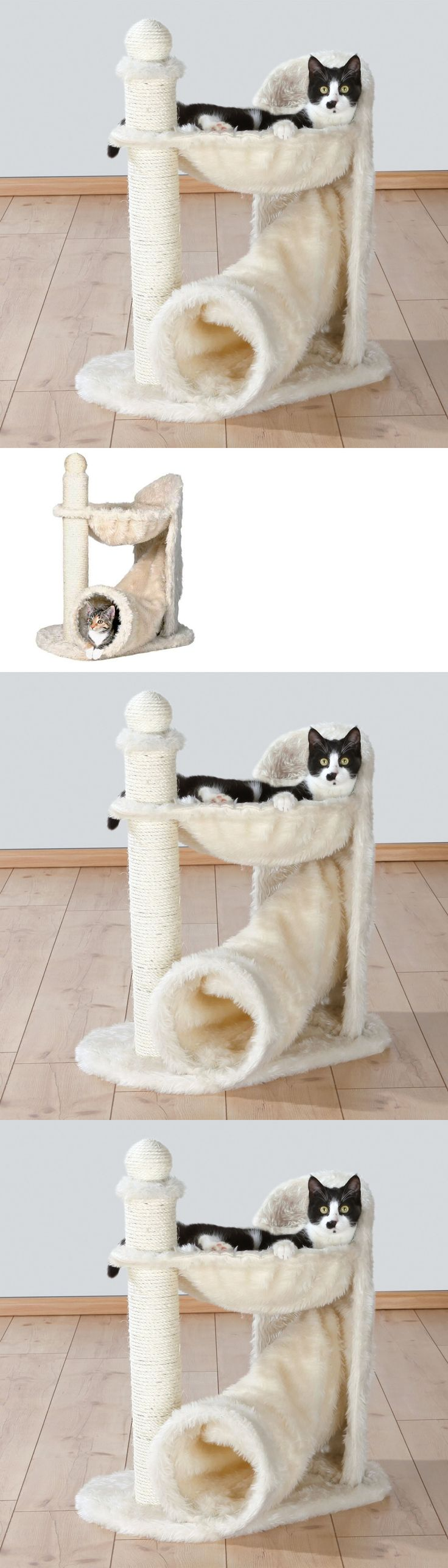 Animals Cats: Cat Tree Condo Scratcher Pet Tower Toy Hammock House Post Bed Kitten Furniture BUY IT NOW ONLY: $49.99
