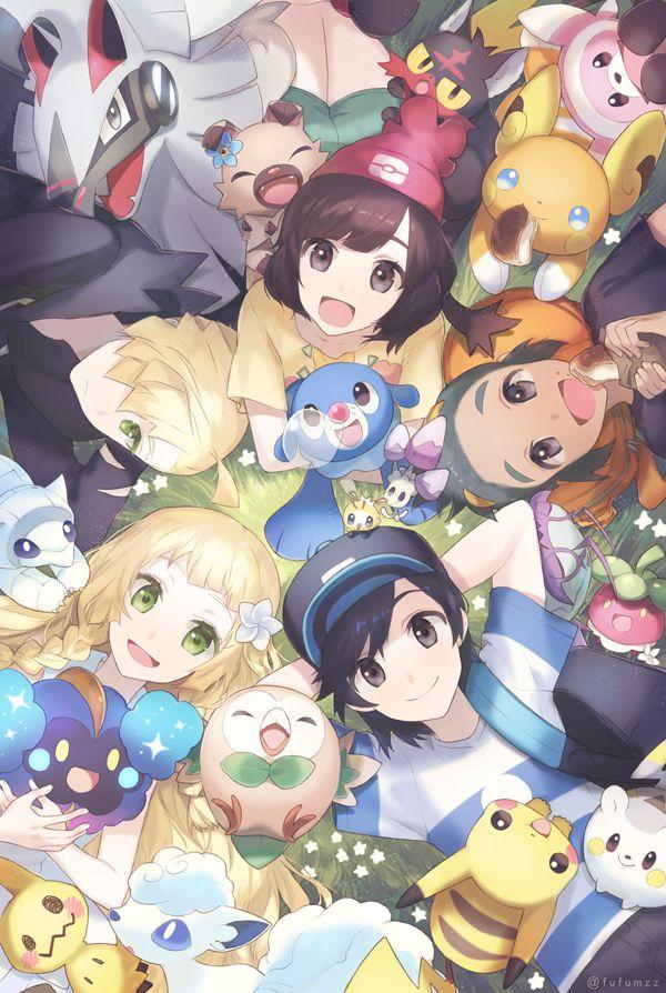 Melso, Pokémon Sun & Moon, Pokémon, Wimpod, Rockruff, Gladion