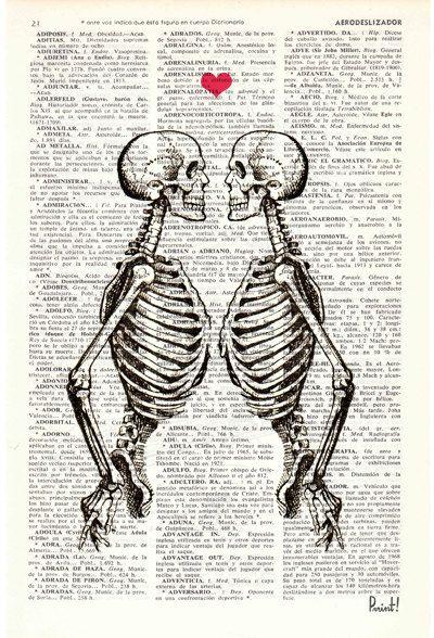 Marito di arte scheletro coppia-regalo regalo 1 di PRRINT su Etsy