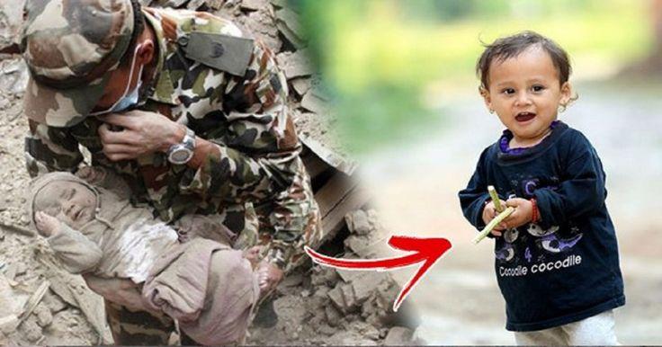 Το μωρό «θαύμα» του Νεπάλ που άντεξε κάτω από τα ερείπια για 22 ώρες μετά τον φονικό σεισμό, είναι σήμερα αγνώριστο και έχει γίνει σύμβολο ελπίδας Crazynews.gr