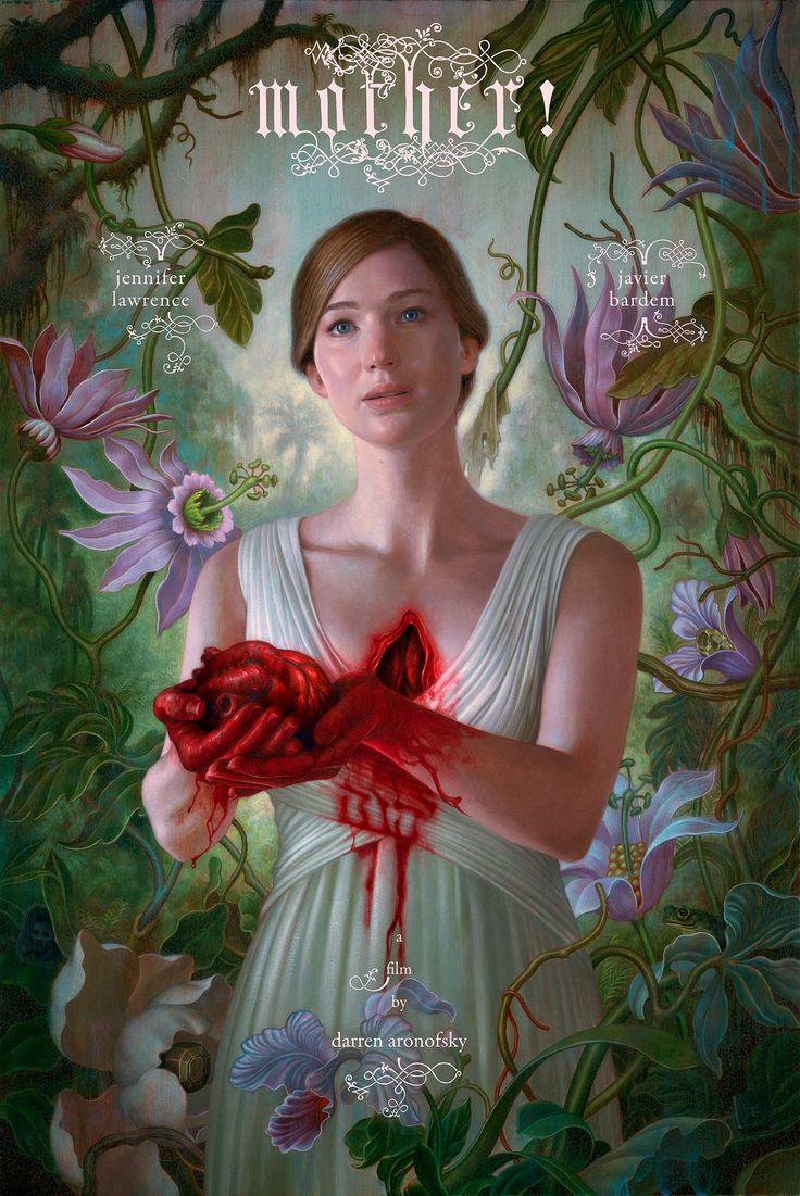 'Mother!':+Jennifer+Lawrence+se+arranca+el+corazón+en+el+póster+de+lo+nuevo+de+Darren+Aronofsky