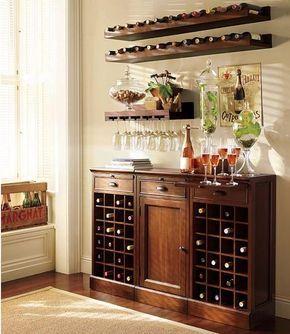 ahorro de espacio muebles para las pequeñas barras caseras e ideas de decoración de interiores