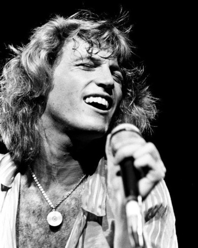 Andy Gibb- Justin Bieber has nothing on him- and yes, I was in his fan club