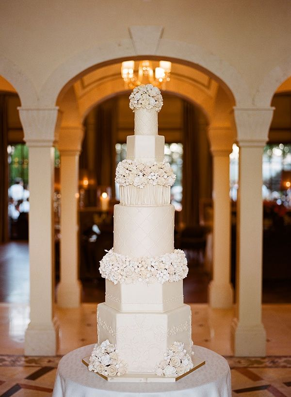 Wedding Cake Trends for 2015 | Really Tall and Big Wedding Cakes