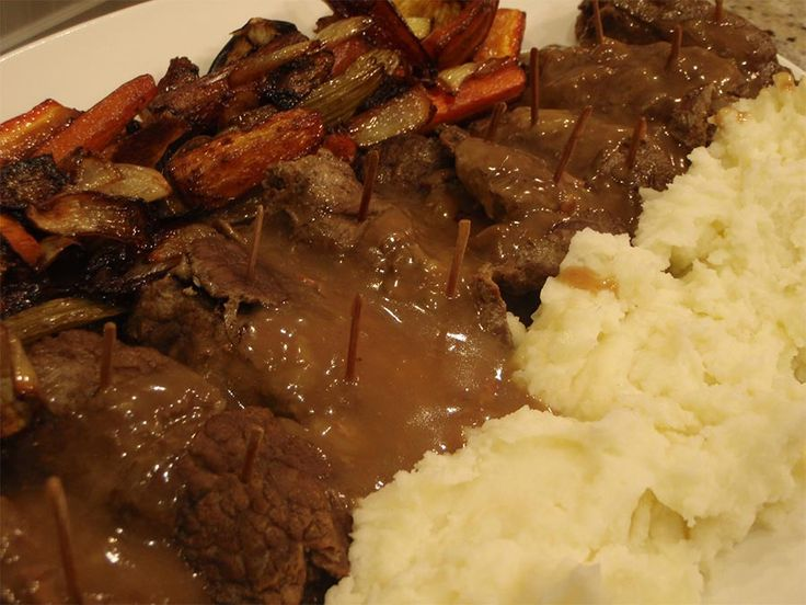 Moose Rouladen, a traditional German dish, usually made with Beef – until now.