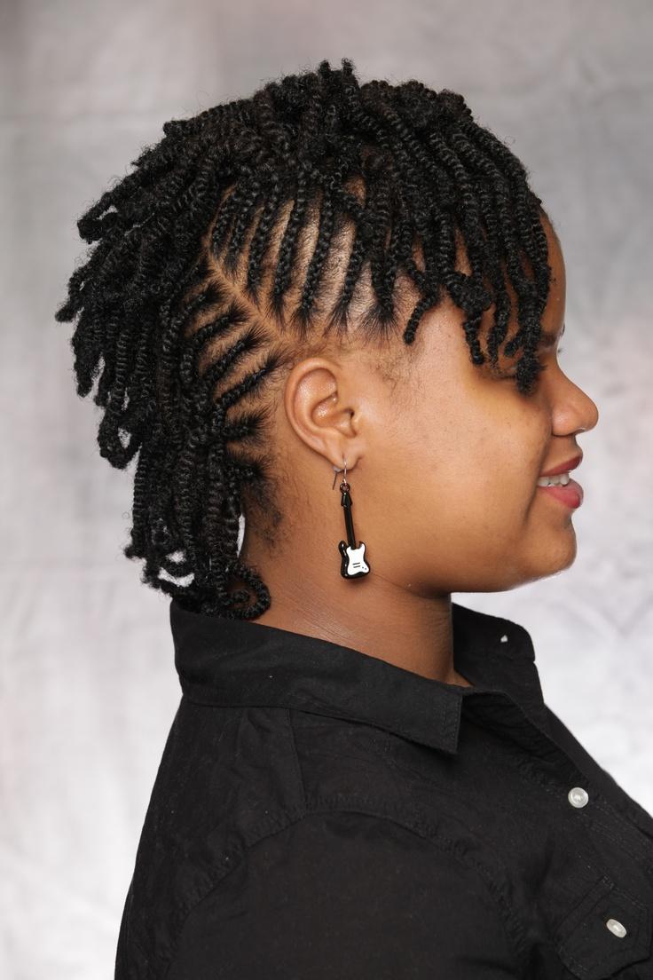 Combination Style Cornrows Amp Nubian Twist 5