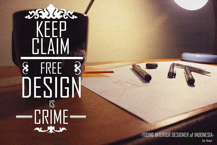 """Design is not as simple as the word """"design"""" #sukunstudio"""