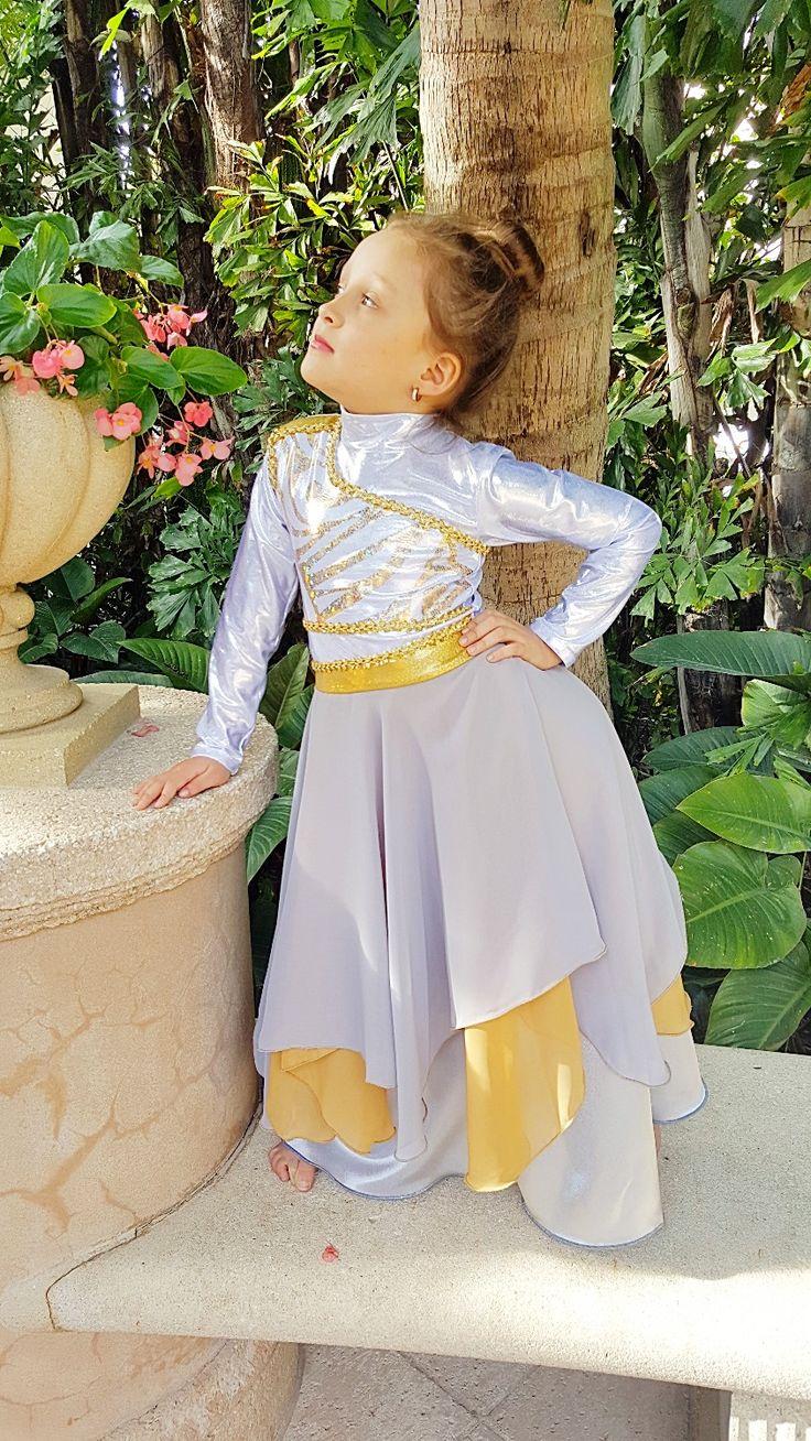 Vestuarios de danza. Silver & Gold Ephod :: Efod Plateado y Dorado