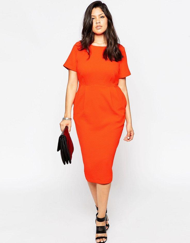 V neck red dress asos delivery