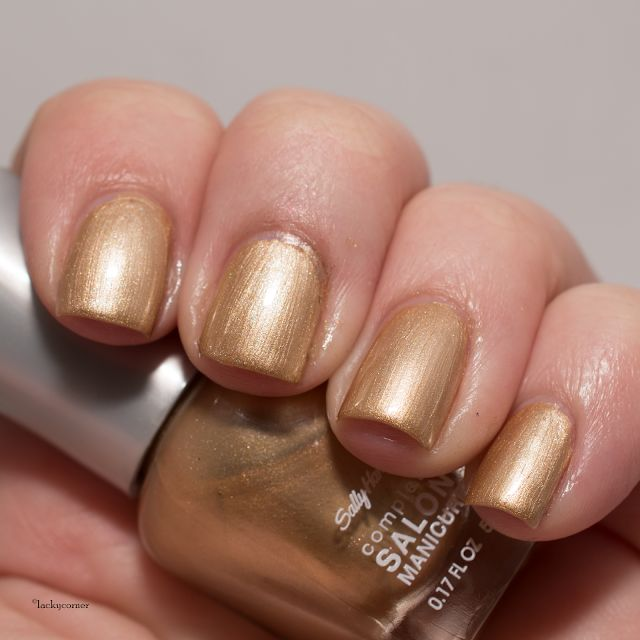Lacky Corner: Sally Hansen - 356 Fool's Gold