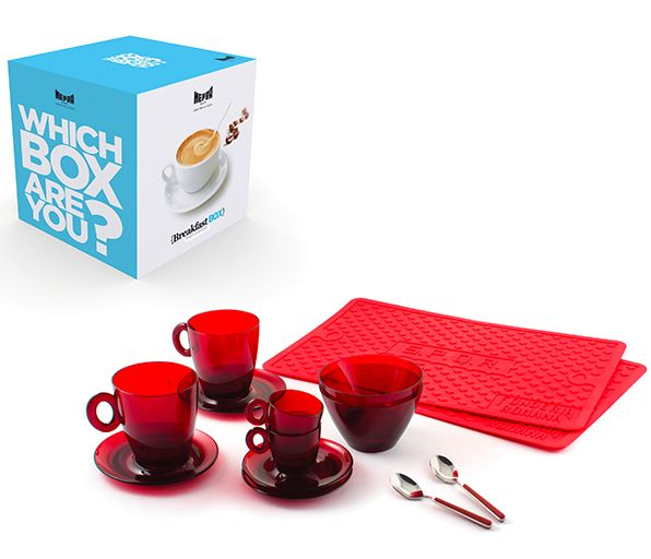 Breakfast box - #ME290106 - #Mepra Breakfast Box by Mepra. The best way to start the day #breakfastboxmepra #cookworld