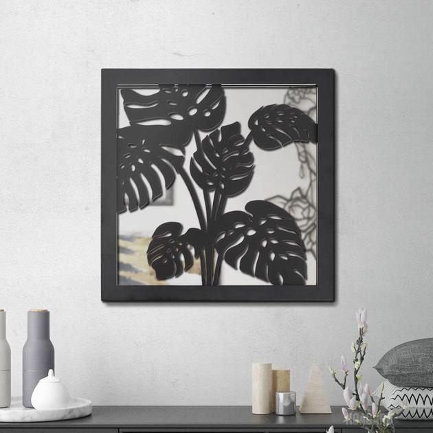 Metal Mirror Mintera I Metal Wall Art Hiasan Dinding Arsitektur