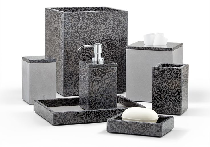 31 best images about stone bath accessories on pinterest for Bathroom decor ross