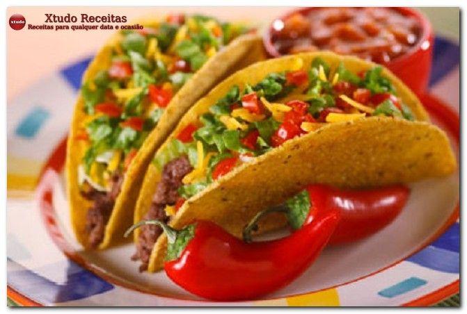 Tacos mexicanos receita completa