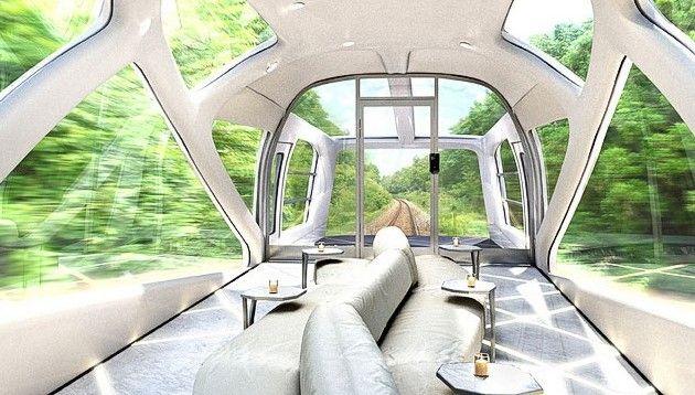 новый круизный поезд  Япония