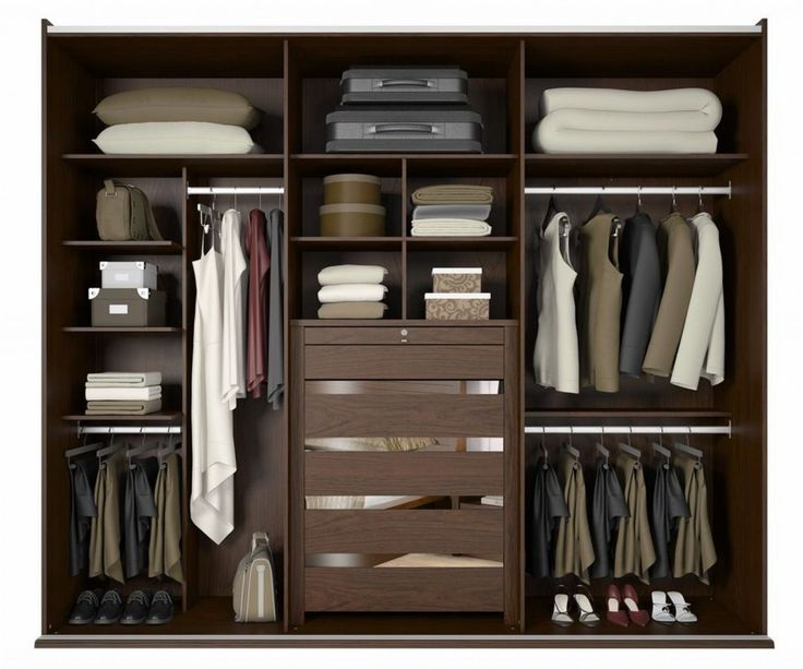 64 best quarto images on pinterest home ideas for Modelos de closets para dormitorios