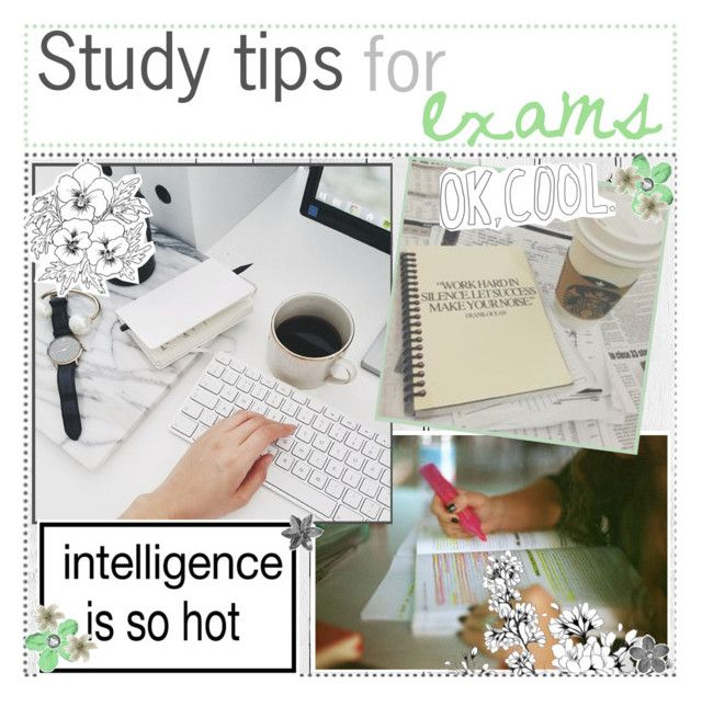 """Study tips for exams // Inas"" by celestial-icons-and-tips ❤ liked on Polyvore featuring art and inastips"