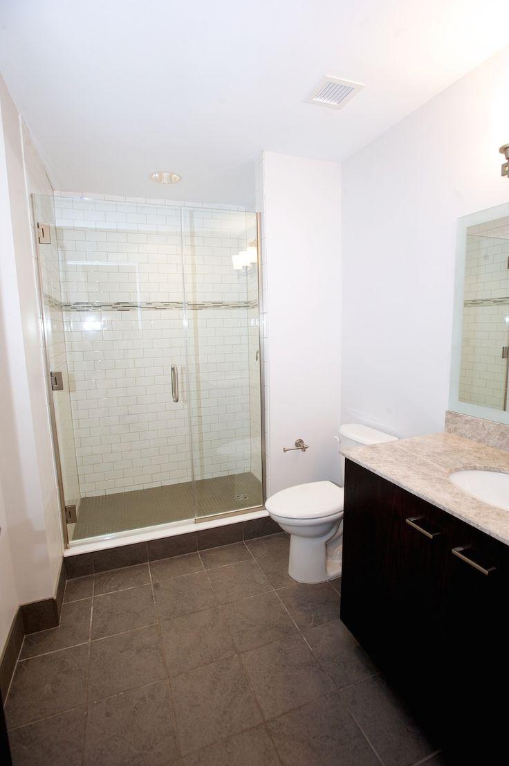 Bathroom From Our 818 Sq/ft, One Bedroom, One Bath Luxury Loft Lafayette,  Buffalo, NY.