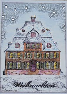 Sophie's Art: Das Weihnachtshaus  -  The Christmas House  -  La ...