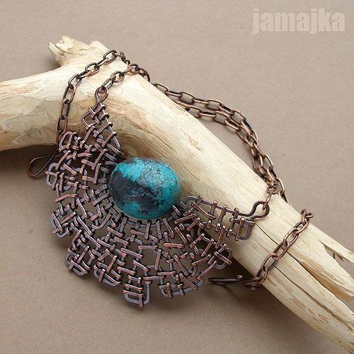 by jamajka10 Try seed beads in thepattern of the metal surround