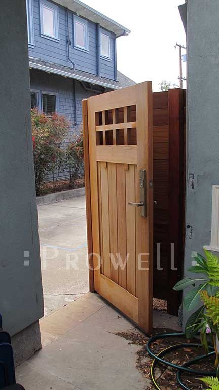 Fence Gate Design Ideas fence gate design ideas by wooden fence gate design ideas with natural wooden style ideas Prowells Craftsman Fence Gate 4