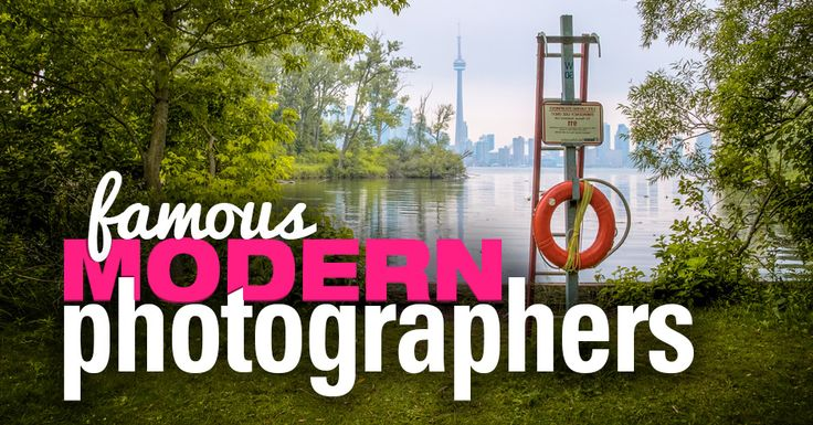 Here's a list of 15 Famous Modern Photographers whose work encompasses what every aspiring Photographer should study and contemplate.