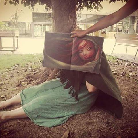"""#bibsjdmr """"Ondina"""" del Benjamin Lacombe és l'àlbum il·lustrat que recomanem amb el #bookfacefriday d'aquesta setmana! #lectura #biblio #santjoandespí #cute #cuento #album #libro"""