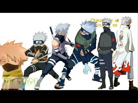 Naruto: Hatake Kakashi's Evolution - YouTube