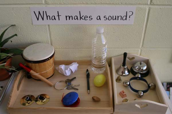 Sound ideas could be extended for elementary children to talk about sound waves and how they work (add in tuning forks, etc.)