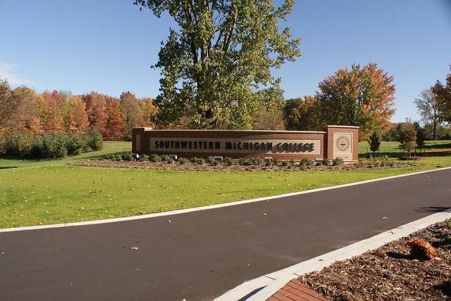Southwestern Michigan College, October 2012, Dailey Road Entrance, via Flickr.