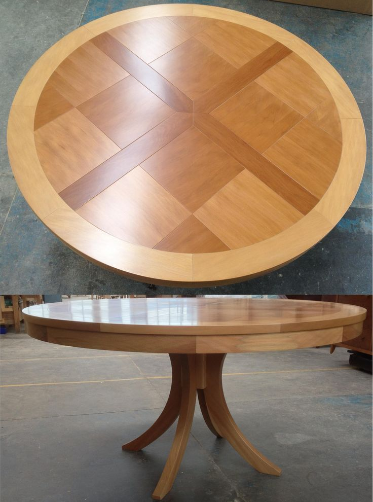 Beautiful Parquet Dining Table by Rose and Heather NZ