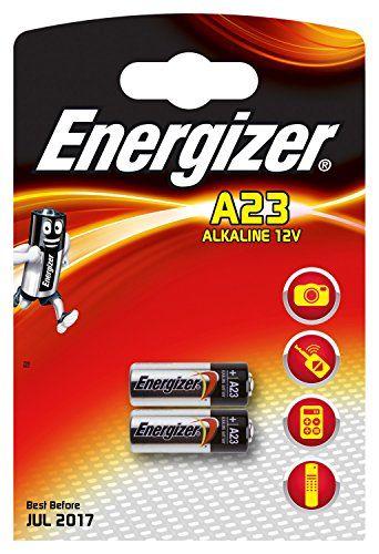 Energizer MN21-E23A Batterie Alcaline (2-Pack, 12V): Marque-Energizer Référence-639336 Energizer - blister 2 piles e23a Cet article…