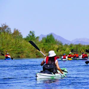Paddle your own canoe (or kayak) in Yuma, Arizona