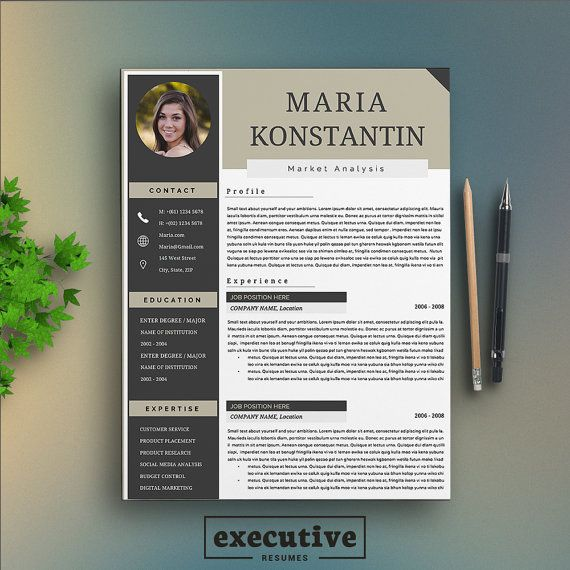 1000  ideas about executive resume template on pinterest