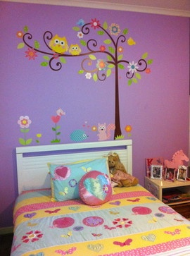 Baby's Nursery - contemporary - kids decor - miami - Murals For Kids