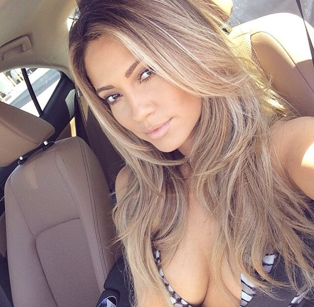 Honey bronde hair
