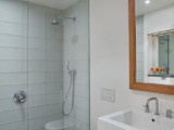 East Village Studio - modern - bathroom - new york - by Jordan Parnass Digital Architecture